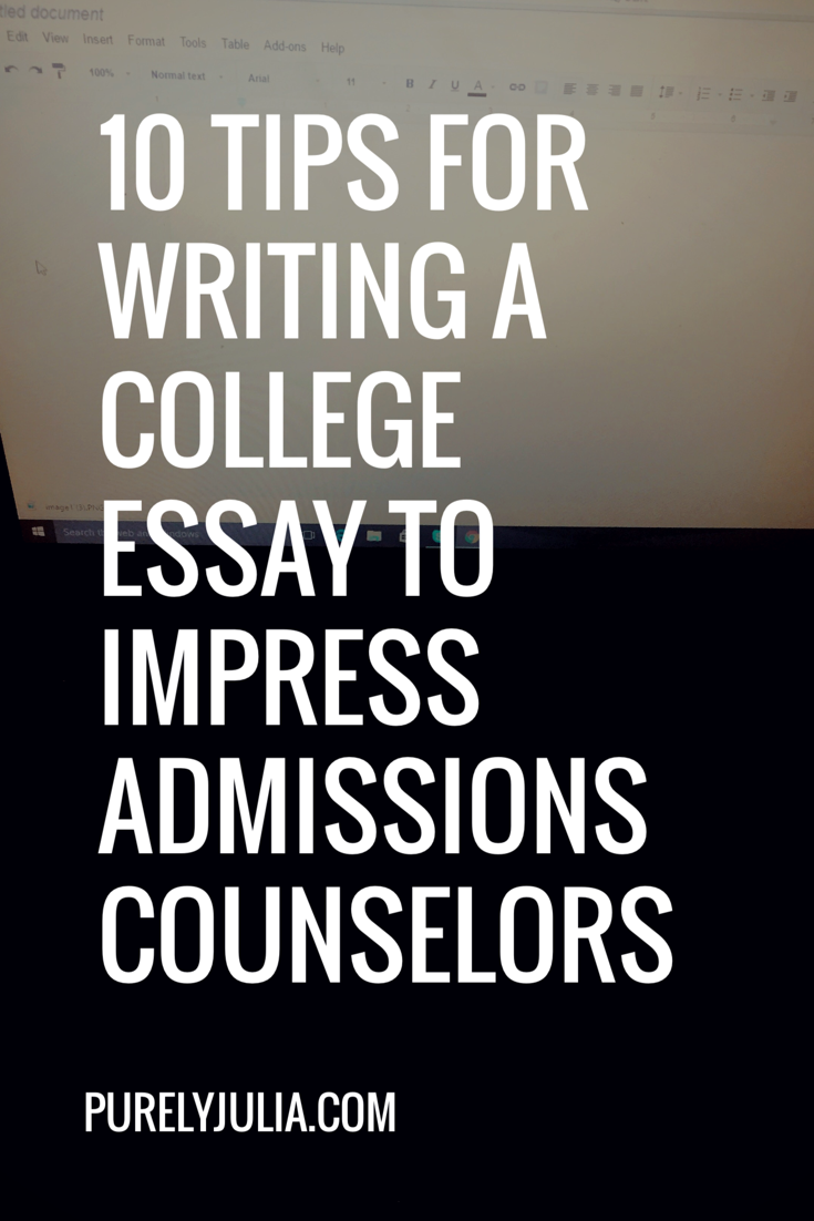 10 tips for writing a college essay that will impress admissions ...